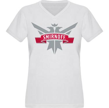 T-shirt XP522 Dam i kategori Alkohol: Smirnoff