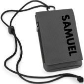 Smartphone-fodral i kategori Eget namn/text: Smartphone-fodral Grafit