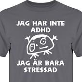 T-shirt, Hoodie i kategori Blandat: Stressad