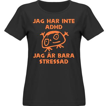 T-shirt SouthWest Dam Svart/Orange tryck i kategori Blandat: Stressad