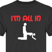 T-shirt, Hoodie i kategori Sexxx: All In