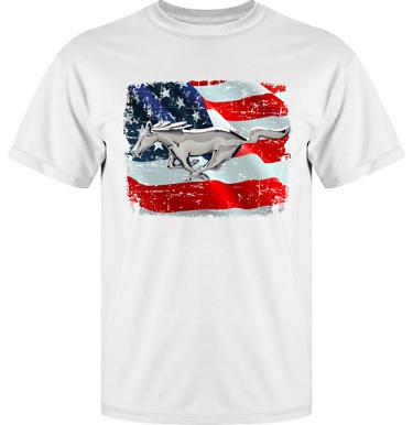 T-shirt Vapor i kategori Motor: US Mustang