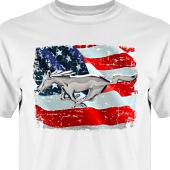 T-shirt, Hoodie i kategori Motor: US Mustang