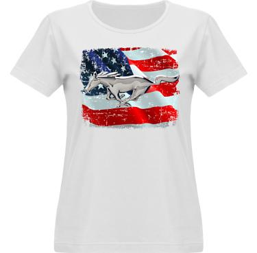 T-shirt Vapor Dam  i kategori Motor: US Mustang