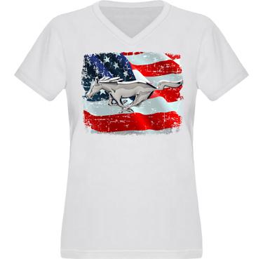 T-shirt XP522 Dam i kategori Motor: US Mustang