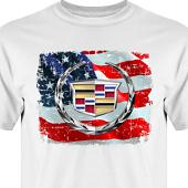 T-shirt, Hoodie i kategori Motor: US Cadillac