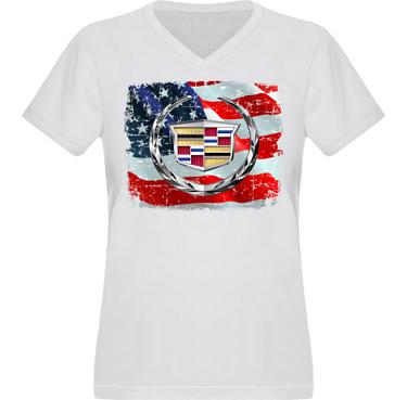 T-shirt XP522 Dam i kategori Motor: US Cadillac