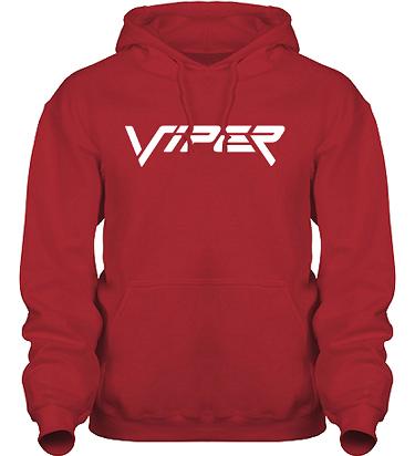 Hood HeavyBlend Röd/Vitt tryck i kategori Motor: Viper