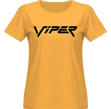 T-shirt SouthWest Dam Gul/Svart tryck i kategori Motor: Viper