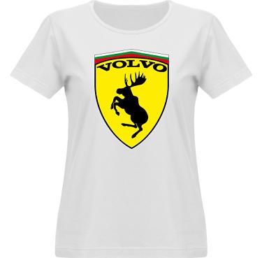 T-shirt Vapor Dam  i kategori Motor: Volvo