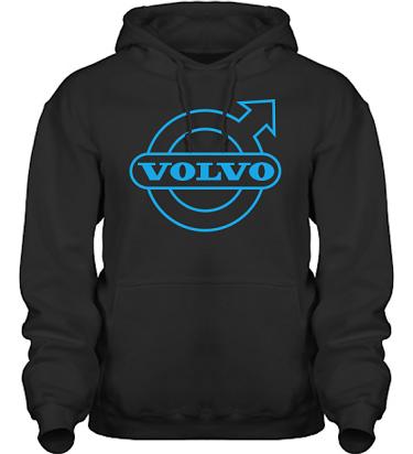 Hood HeavyBlend Svart/Blått tryck i kategori Motor: Volvo