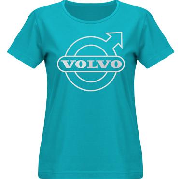 T-shirt SouthWest Dam Aqua/Silverfärgat tryck i kategori Motor: Volvo