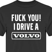 T-shirt, Hoodie i kategori Motor: Volvo F**k You