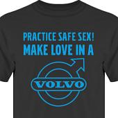 T-shirt, Hoodie i kategori Motor: Volvo Safe Sex