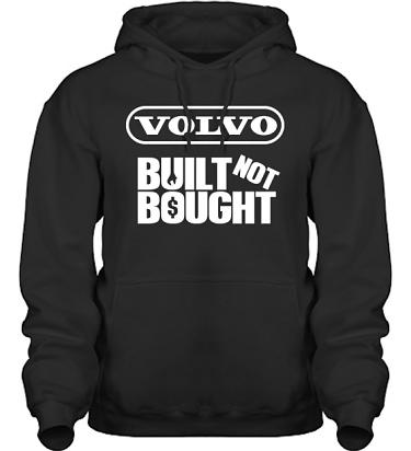 Hood HeavyBlend Svart/Vitt tryck i kategori Motor: Volvo Built Not Bought