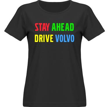 T-shirt SouthWest Dam Svart i kategori Motor: Volvo Stay ahead