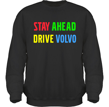 Sweatshirt HeavyBlend Svart i kategori Motor: Volvo Stay ahead