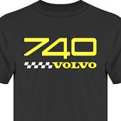 T-shirt, Hoodie i kategori Motor: Volvo 740