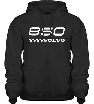 Hood HeavyBlend Svart/Vitt tryck i kategori Motor: Volvo 850