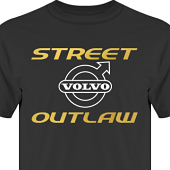 T-shirt, Hoodie i kategori Motor: Volvo Street Outlaw