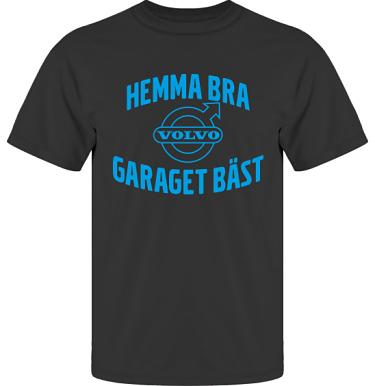 T-shirt UltraCotton Svart/Blått tryck i kategori Motor: Volvo Garaget bäst