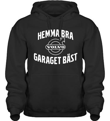 Hood HeavyBlend Svart/Vitt tryck i kategori Motor: Volvo Garaget bäst