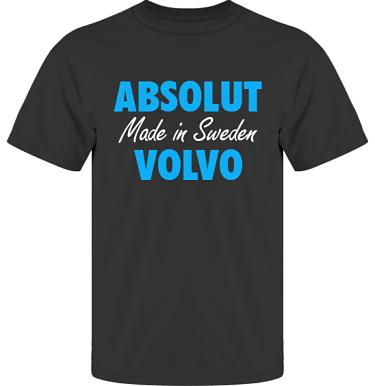 T-shirt UltraCotton Svart/Blått tryck i kategori Motor: Absolut Volvo