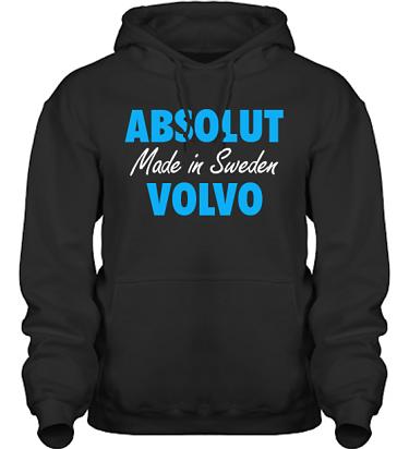Hood HeavyBlend Svart/Blått tryck i kategori Motor: Absolut Volvo