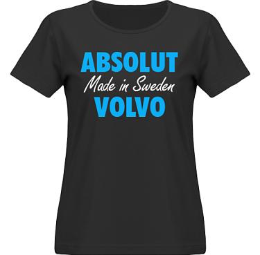 T-shirt SouthWest Dam Svart/Blått tryck i kategori Motor: Absolut Volvo