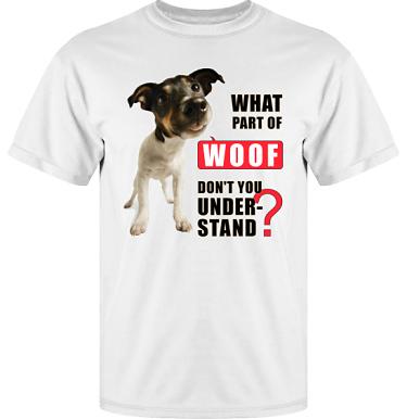 T-shirt Vapor i kategori Attityd: Woof