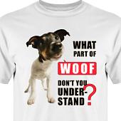 T-shirt, Hoodie i kategori Attityd: Woof