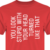 T-shirt, Hoodie i kategori Kropp: You look stupid