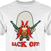 T-shirt, Hoodie i kategori Film/TV: Back Off