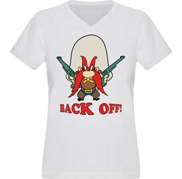 T-shirt XP522 Dam i kategori Film/TV: Back Off