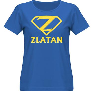 T-shirt SouthWest Dam Royalblå/Gult tryck  i kategori Blandat: Zlatan