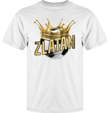 T-shirt Vapor i kategori Blandat: Zlatan The King