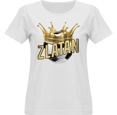 T-shirt Vapor Dam  i kategori Blandat: Zlatan The King