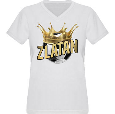 T-shirt XP522 Dam  i kategori Blandat: Zlatan The King